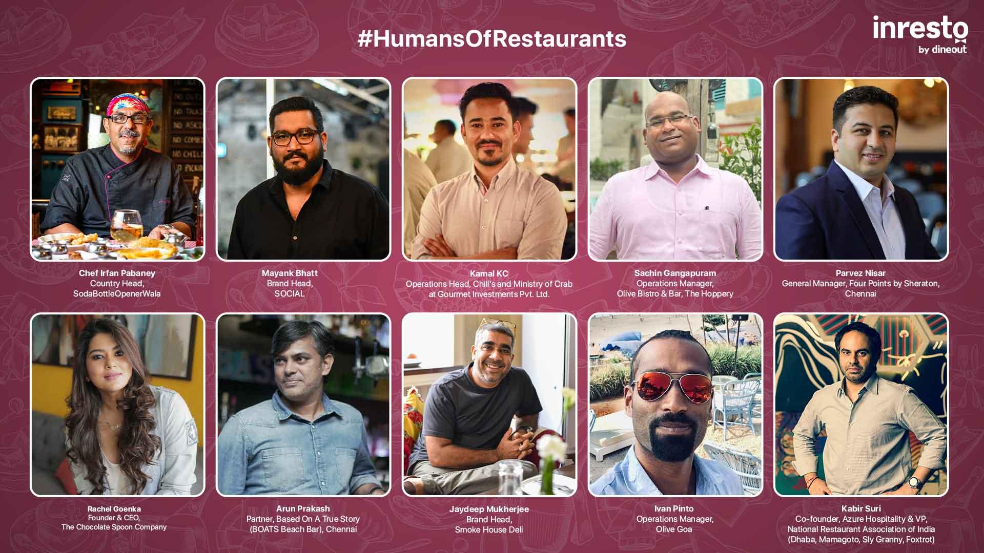 #HumansOfRestaurants: Inspirational anecdotes of restaurateurs sailing through tough times