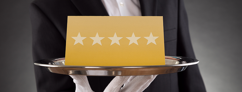 How to make use of positive reviews for promoting your restaurant?