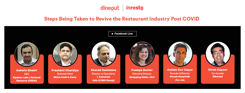 Dineout's LIVE Webinar | Steps Taken to Revive the Restaurant Industry