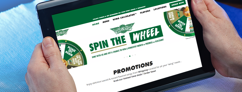 Wingstop UAE growing online presence using inresto White Label